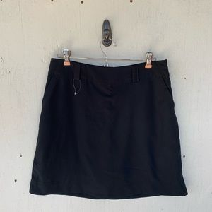 Nike Black Converge Seamless Training Golf Skort